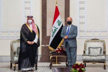 الأمير خالد بن سلمان: المملكة ستبقى إلى جانب العراق بأخوة من القلب وبشراكة لا تنضب