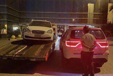 القبض على قائد مركبة دهس أحد المشاة أثناء ممارسته التفحيط في حي الربوة بالرياض