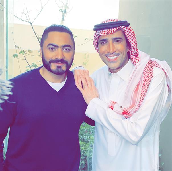 """""""الترفيه"""" ترعى أول فيلم مصري يُصور في المملكة بطولة تامر حسني وفايز المالكي"""