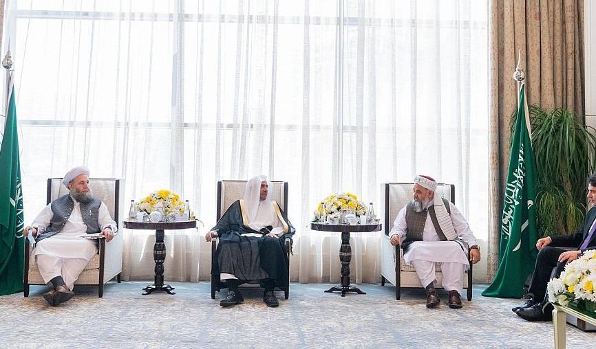 """توقيع """"إعلان السلام في أفغانستان"""" من جوار بيت الله الحرام برعاية ودعم المملكة"""