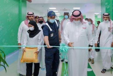 أمير عسير يدشن المرحلة الأولى من المستشفى الميداني بأبها بسعة 100 سرير