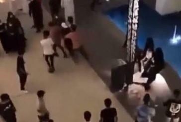القبض على 5 مواطنين شاركوا في مشاجرة جماعية بأحد المراكز التجارية بحائل