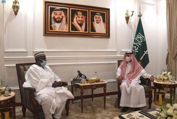 مدير فرع وزارة الخارجية بمنطقة مكة المكرمة يستقبل القنصل العام لجمهورية نيجيريا بجدة