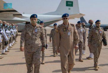 قائد القوات الجوية يقف على تنفيذ مناورات التمرين الجوي المشترك والمختلط