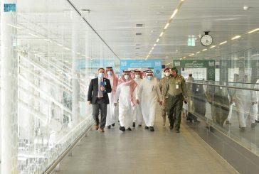 رئيس الطيران المدني يتفقّد مطار الأمير محمد بن عبدالعزيز الدولي بالمدينة المنورة