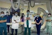 فريق طبي بالمملكة ينجح في إجراء عملية نوعية باستخدام الدعامات المطورة