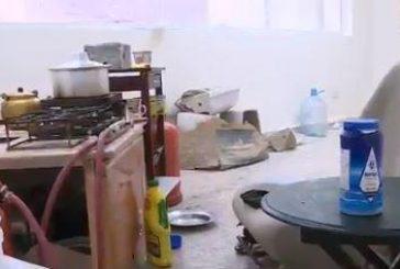 مركز صحي يتحول لمأوى للعمالة السائبة بالرياض البصل في استقبال المرضى والشيشة بالمختبر