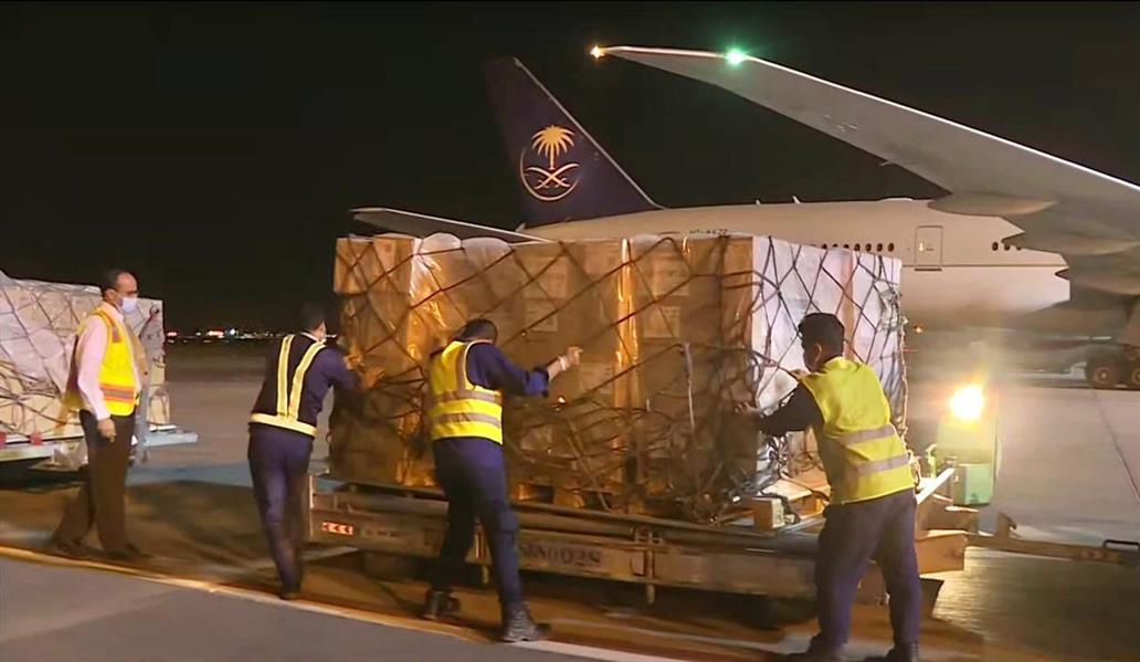مغادرة أولى طلائع الجسر الجوي السعودي لدعم ماليزيا في مواجهة فيروس كورونا