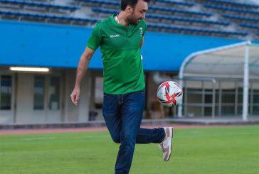 وزير الرياضة يشارك في مران