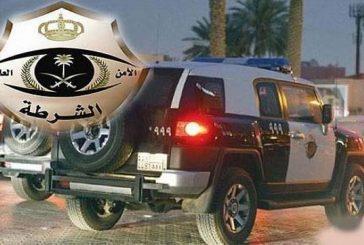 شرطة الرياض تضبط شاباً أتلف جهاز رصد آلي برميه بالحجارة