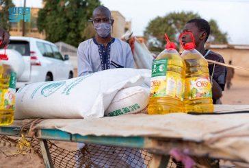 مركز الملك سلمان للإغاثة يدشن توزيع 350 طنا من السلال الغذائية للمتضررين من الفيضانات في السنغال