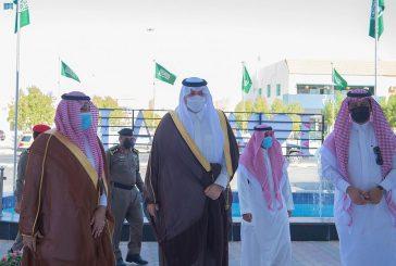الأمير فيصل بن خالد بن سلطان يفتتح مجمع سحاب الشمال الطبي في عرعر