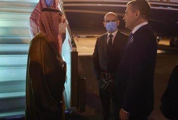 وزير الخارجية يصل أوزبكستان في زيارة رسمية