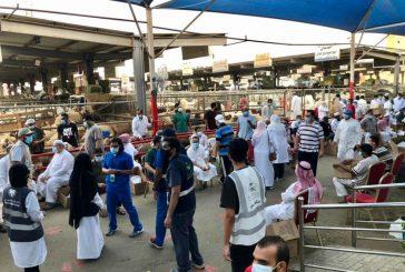 تكريم منسوبي قسم التوعية الصحية بمستشفى شرق جدة عقب إختتام مشاركتهم في المسلخ الرئيسي