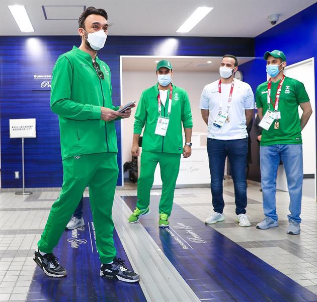 وزير الرياضة يصل طوكيو لترؤس بعثة المملكة في الأولمبياد