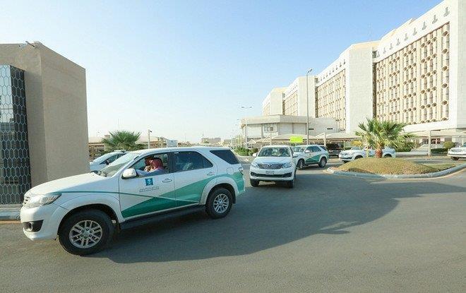 ضبط مستودع لصناعة المنظفات والكمامات من مواد مخالفة في الرياض