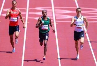 مازن الياسين يحل رابعًا في سباق 400 متر ويودع أولمبياد طوكيو