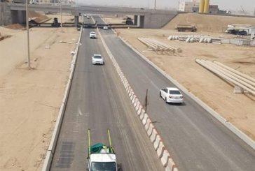 افتتاح الحركة المرورية أسفل جسر