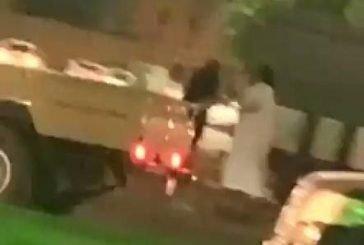 النائب العام يأمر بالقبض على شخص اعتدى بالضرب على امرأة في مكان عام بمحافظة الخرج