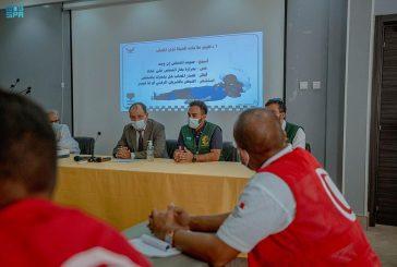 مركز الملك سلمان للإغاثة يختتم البرنامج التدريبي التطوعي في موريتانيا