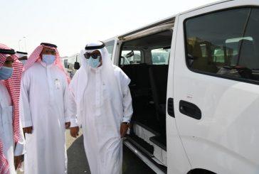 مدير تعليم مكة يقف على استعدادات أسطول النقل المدرسي