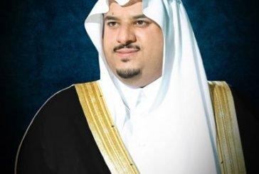 أمير الرياض بالنيابة يؤدي صلاة الميت على شهيد الواجب نايف السهلي