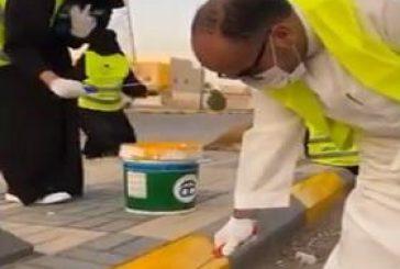 أهالي الرياض يشاركون في تزيين الشوارع لتحسين المشهد الحضري بالعاصمة