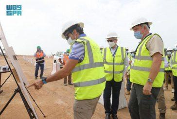 وزير البيئة يزور مشروع البحر الأحمر ويقف على آخر تطوراته