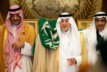 أمير مكة يؤدي