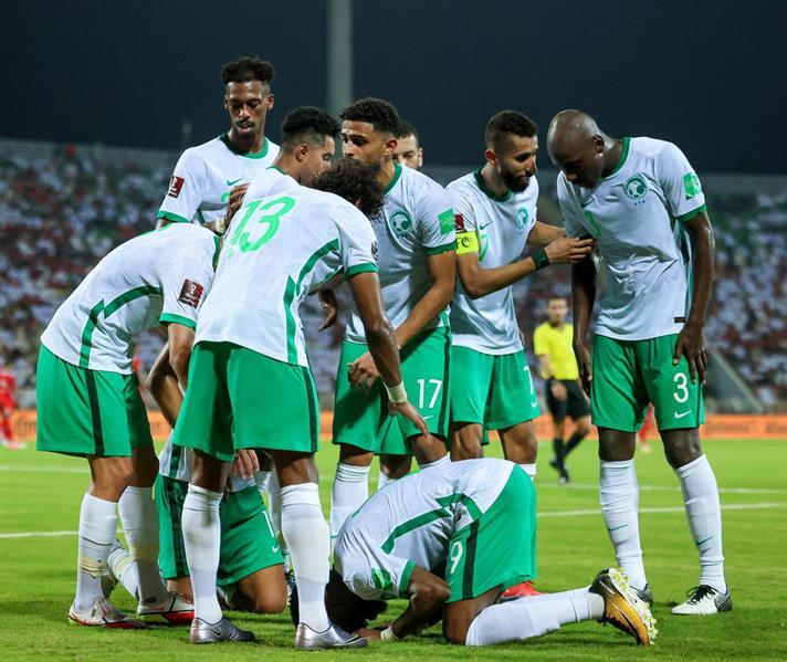 هدف الشهري يقود الأخضر لفوز ثمين على عمان في تصفيات كأس العالم