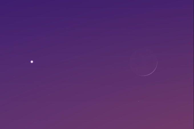 هلال شهر صفر يزيّن سماء المملكة مساء اليوم