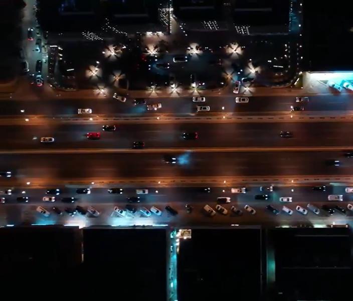 """""""أمانة الرياض"""": نقلة نوعية في التحسينات الحضرية بطريق التخصصي"""