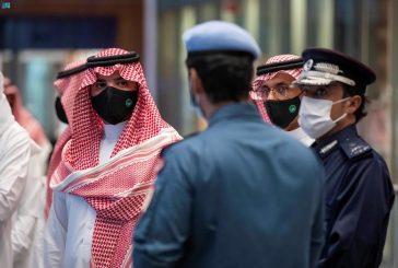 الأمير عبدالعزيز بن سعود يزور مركز القيادة الوطني بدولة قطر
