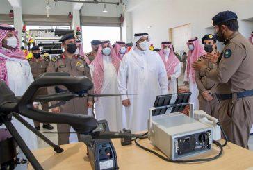 تدشين عدد من مقرات الدفاع المدني في الرياض ومحافظاتها