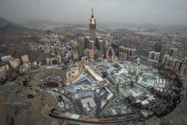تنفيذ مشروع لتوفير 60 % من مياه الوضوء بالمسجد الحرام