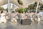 حرس حدود مكة يُنفّذ مسيرة بحرية ابتهاجًا بـ اليوم الوطني الـ ٩١