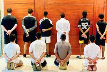 ضبط 10 أشخاص في مشاجرة جماعية بأحد المرافق العامة بالرياض