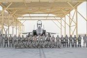 وصول القوات الجوية المشاركة في تمرين مركز الحرب الجوي الصاروخي إلى قاعدة الظفرة الإماراتية