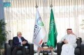 الرئيس التنفيذي للصندوق السعودي للتنمية يستقبل رئيس مجلس إدارة المصرف الأهلي العراقي