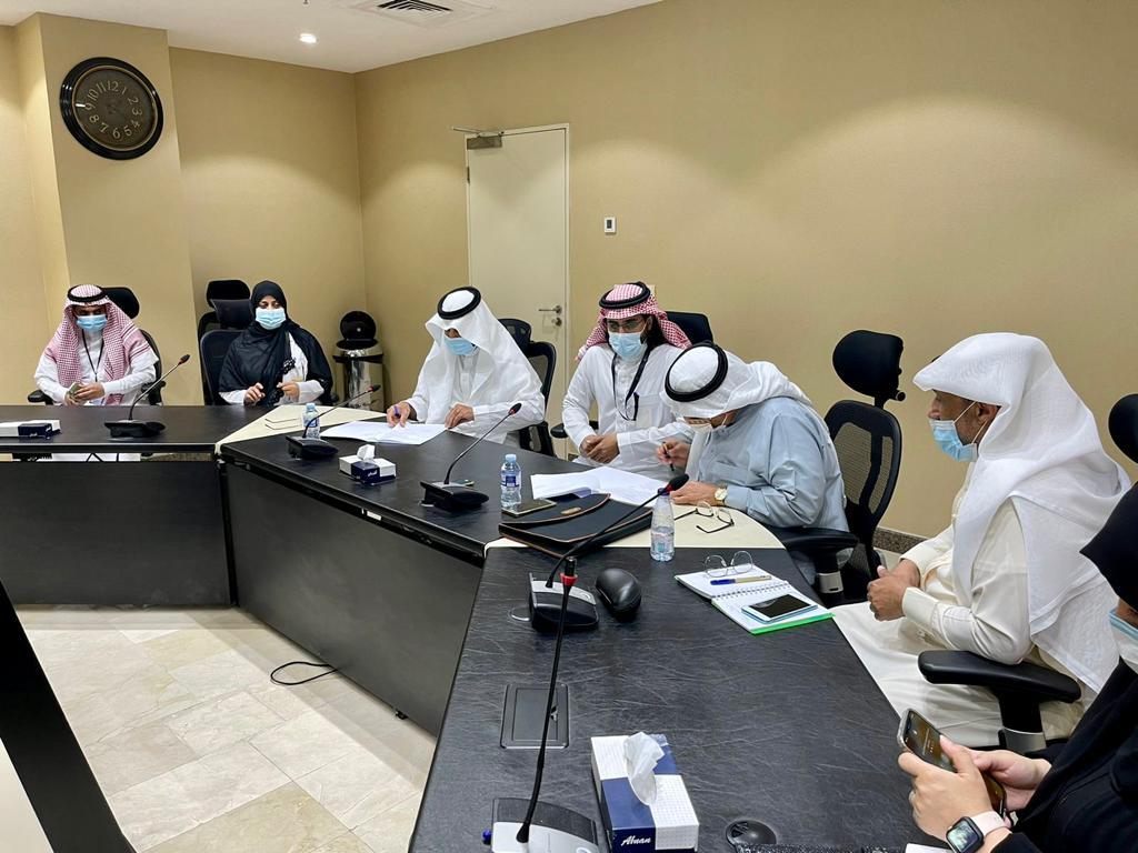 توقيع اتفاقية مشاركة مجتمعيه بين مستشفى شرق جده ومركز التطوير المستمر بجده