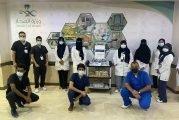 مستشفى شرق جدة يفعل الأسبوع العالمي لمكافحة العدوى